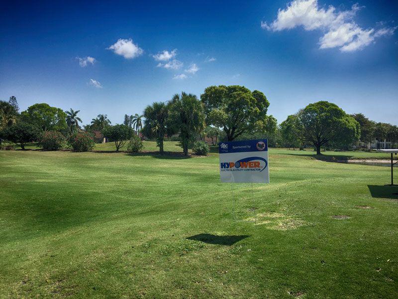 Hypower sponsors Taste of ABC Golf Tournament