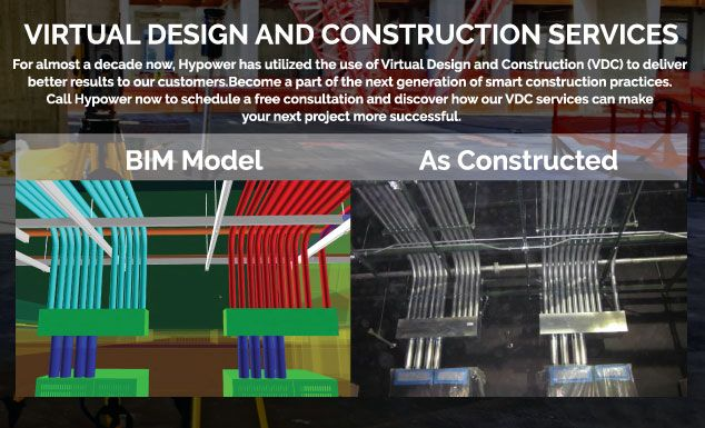 Hypower virtual design and construction hypower electrical for Industrial design services inc