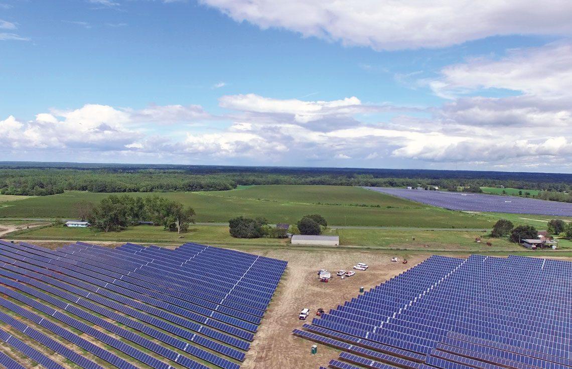 74.6 MWdc Solar PV Installation, North Carolina