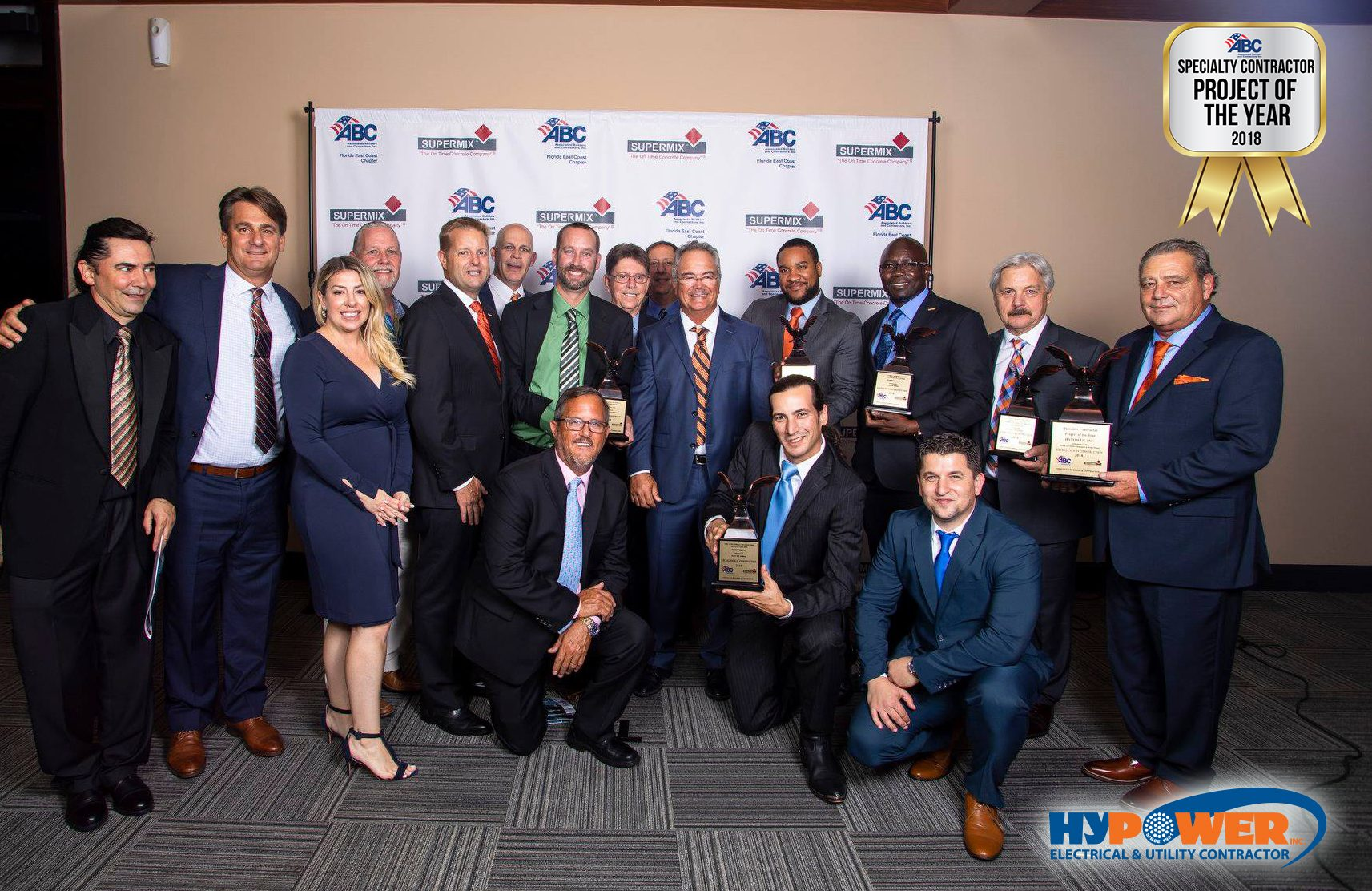 Hypower Wins Specialty Contractor Project of the Year and 5