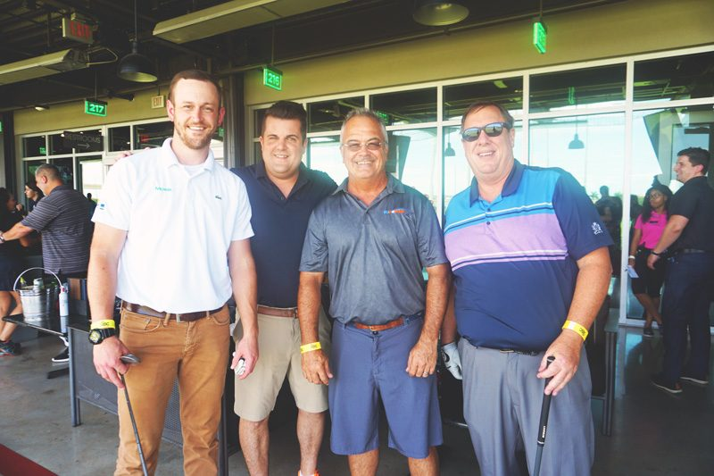Hypower and Moss Construction Cosponsor ABC's Top Golf Event